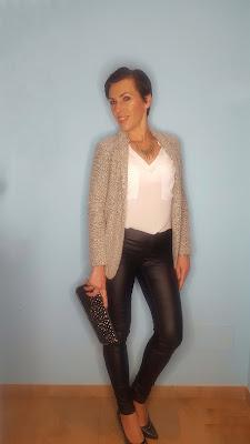 Outfit Chaqueta mezclilla