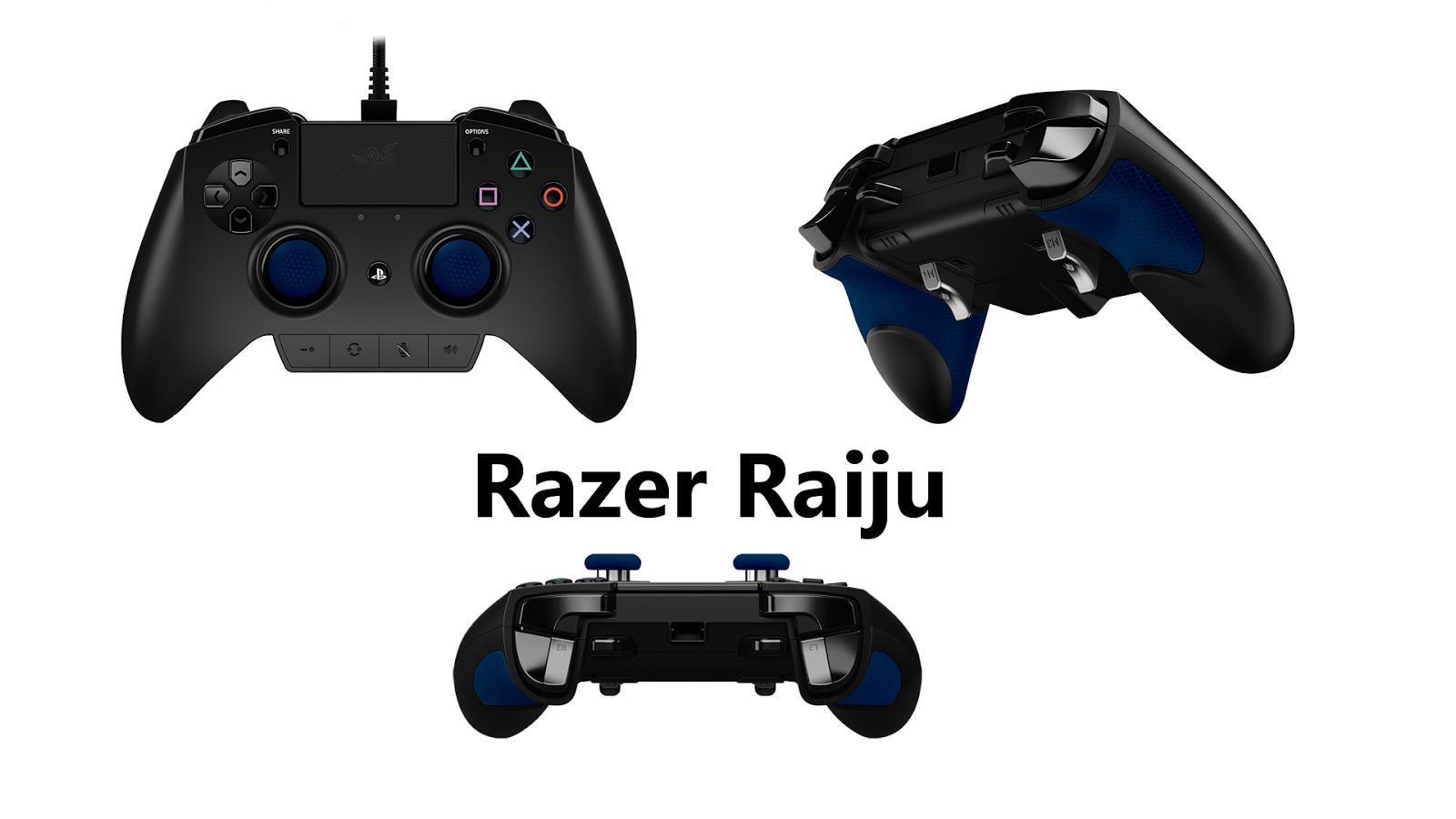 Razer raiju controller playstation 4 e pc recensione for Soluzione iconica