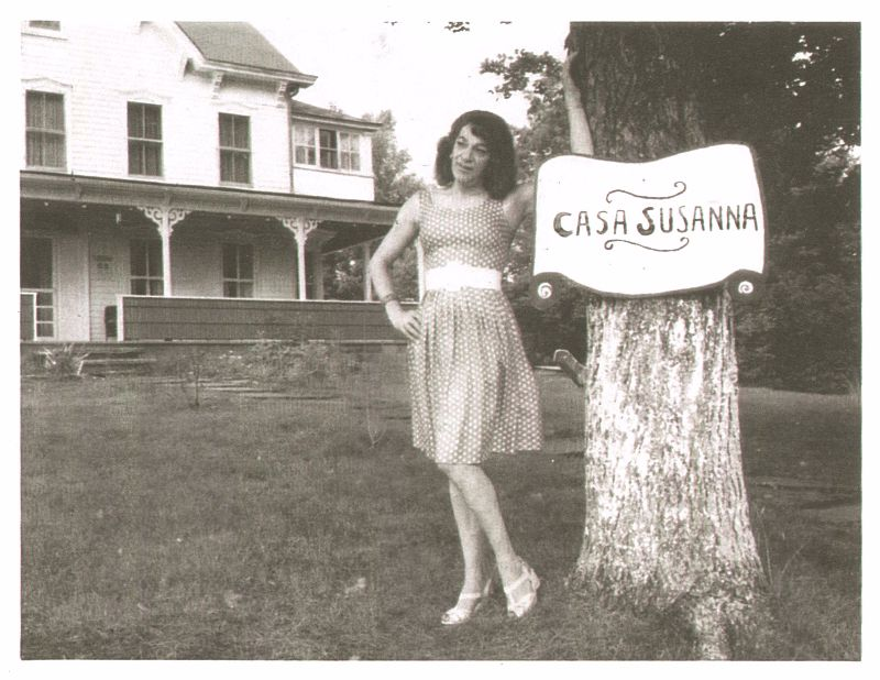 intimate vintage snapshots from casa susanna a resort where cross