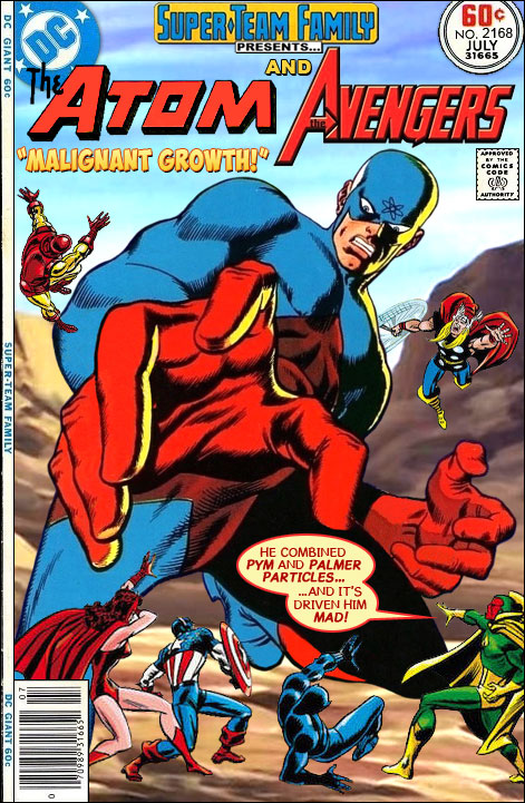 Continued From Yesterdays Cover We See That The Feud Between Atom And Ant Giant Man Has Become Avengers Problem As Well