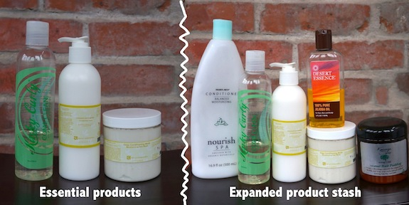 Natural Hair Styling Tools: Updated Natural Hair Regimen Pt. 1