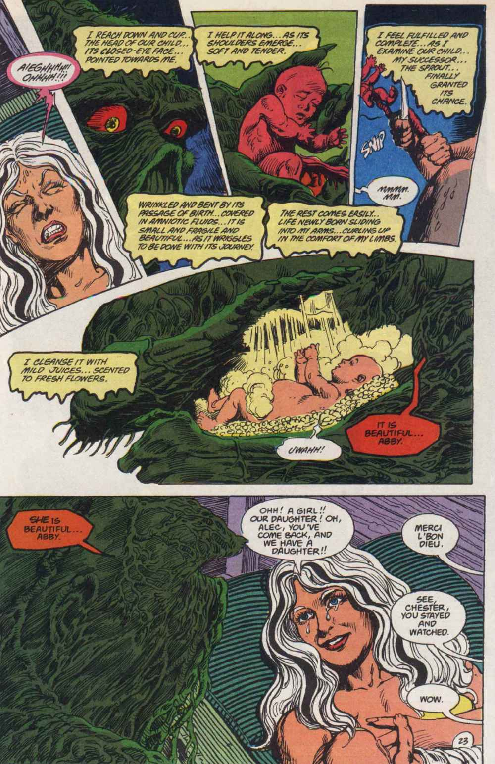 Swamp Thing (1982) Issue #90 #98 - English 23
