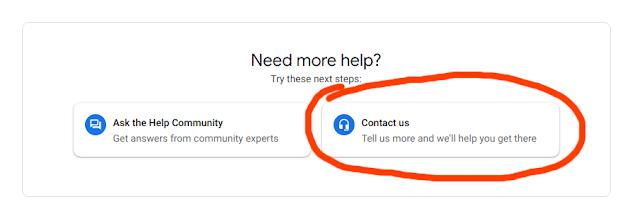 Техподдержка Гугл Диск