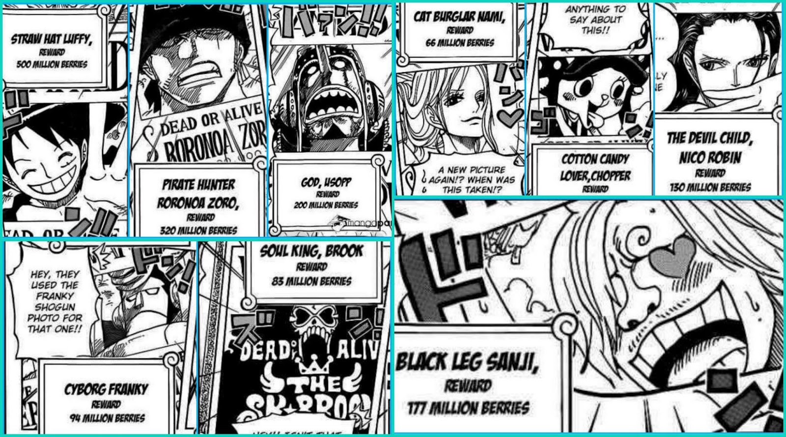 A.D.ventures: 12 interesting scenes of One Piece Chapter 801