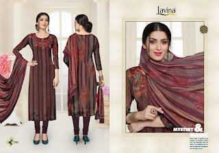 Lavina vol 75 Silk Salwar Kameez wholesale