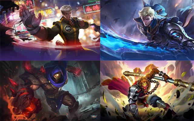 hero fighter mobile legends terbaik