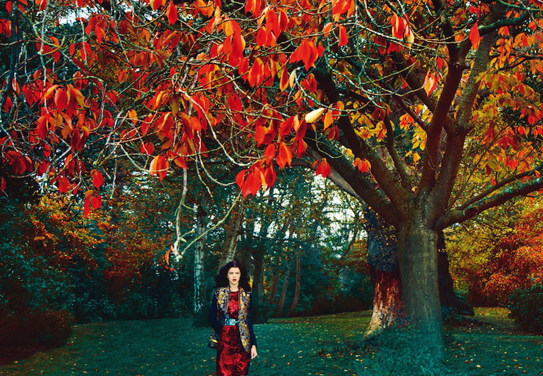 once upon a time: antonia wesseloh by erik madigan heck for uk harper's bazaar april 2015