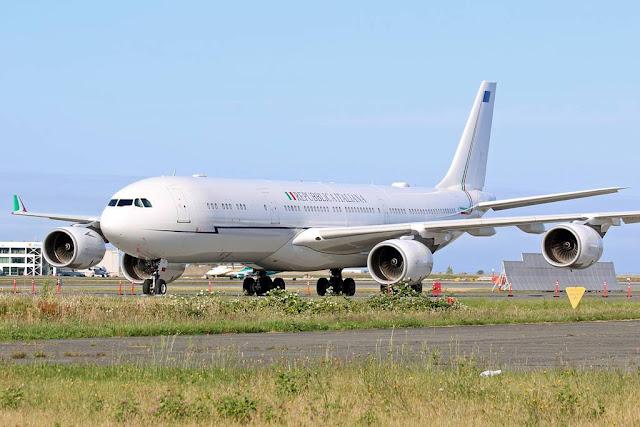 Italy revoke lease A340 presidential plane