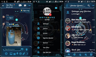 Download BBM MOD Droid Chat Iron Man APK V3.0.1.25