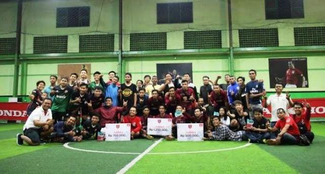 Ketupat Futsal Honda Community Bali 2018
