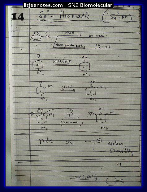 SN2 Biomolecular Org Notes3