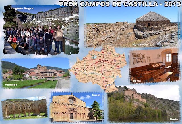 Tren Campos de Castilla 2013, Soria