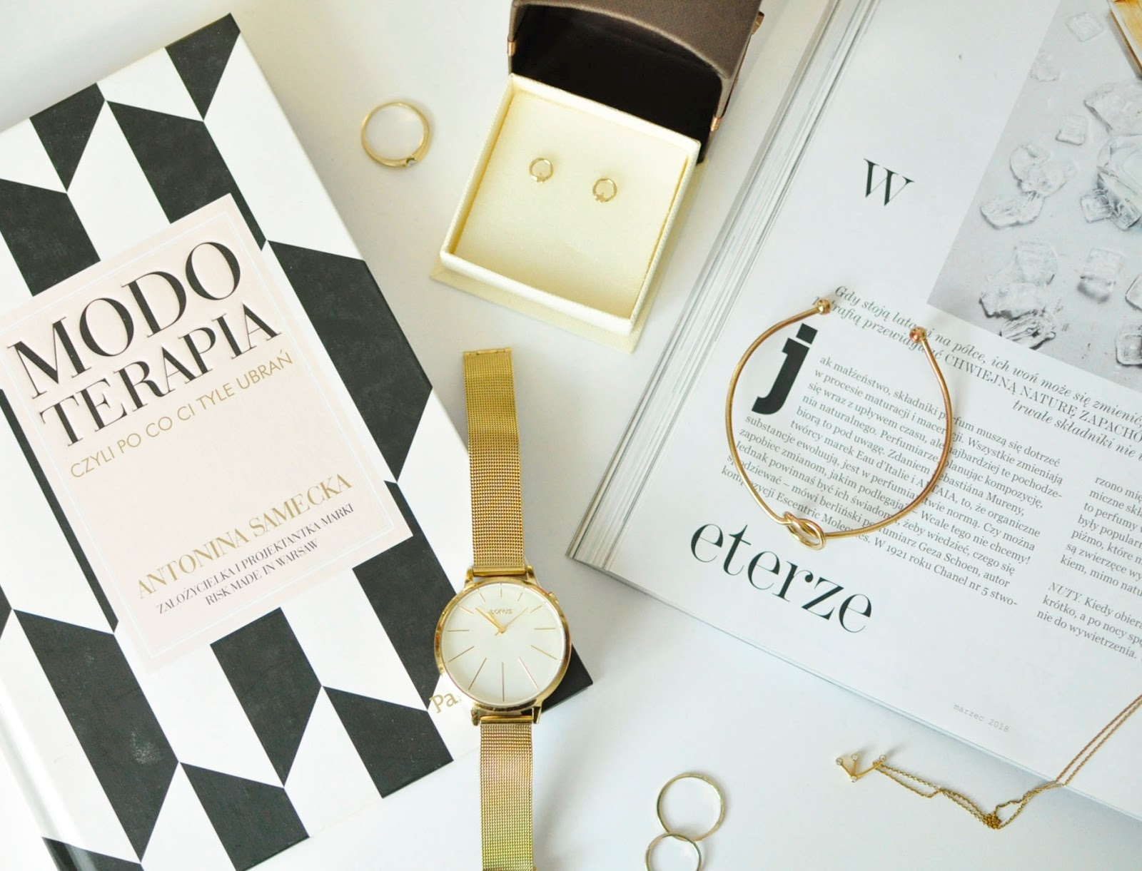 Minimalizm w biżuterii to jest TO | Apart Yes Lorus W.Kruk Sotho