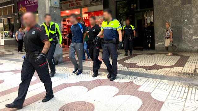 detención en Barakaldo por quebrantar una orden de alejamiento