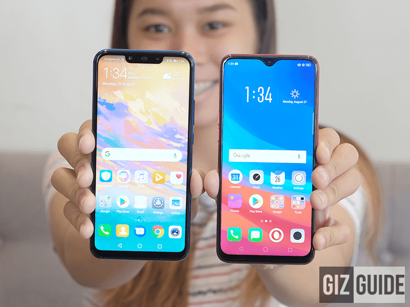 "Huawei Nova 3i vs. OPPO F9 Mid-range Comparison - Will the former retain its title as '""King""?"