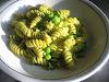 Zesty Green Pea and Jalapeño Pesto Pasta
