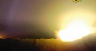 """الحشد الشعبي يستهدف مفرزة لـ""""داعش"""" في صحراء نينوى"""