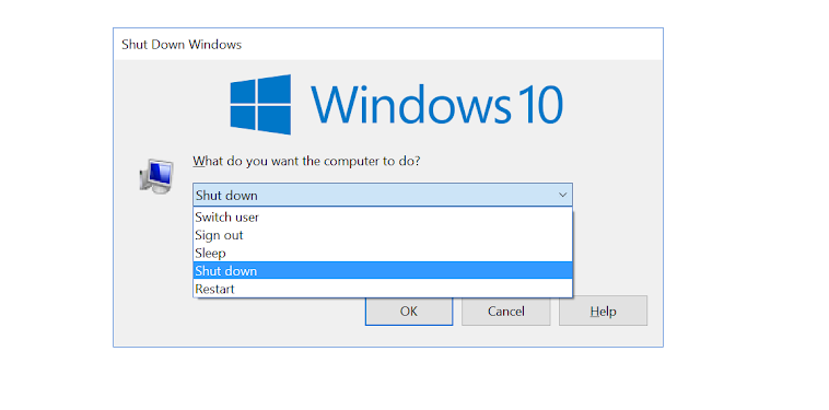 Cara mematikan laptop windows tanpa harus instal update