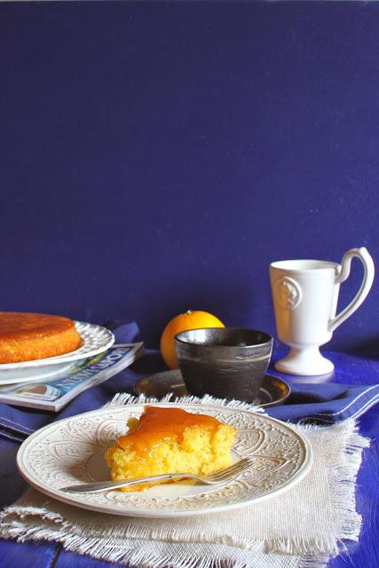 Torta alla tripla arancia, czyli ciasto z potrójnych pomarańczy