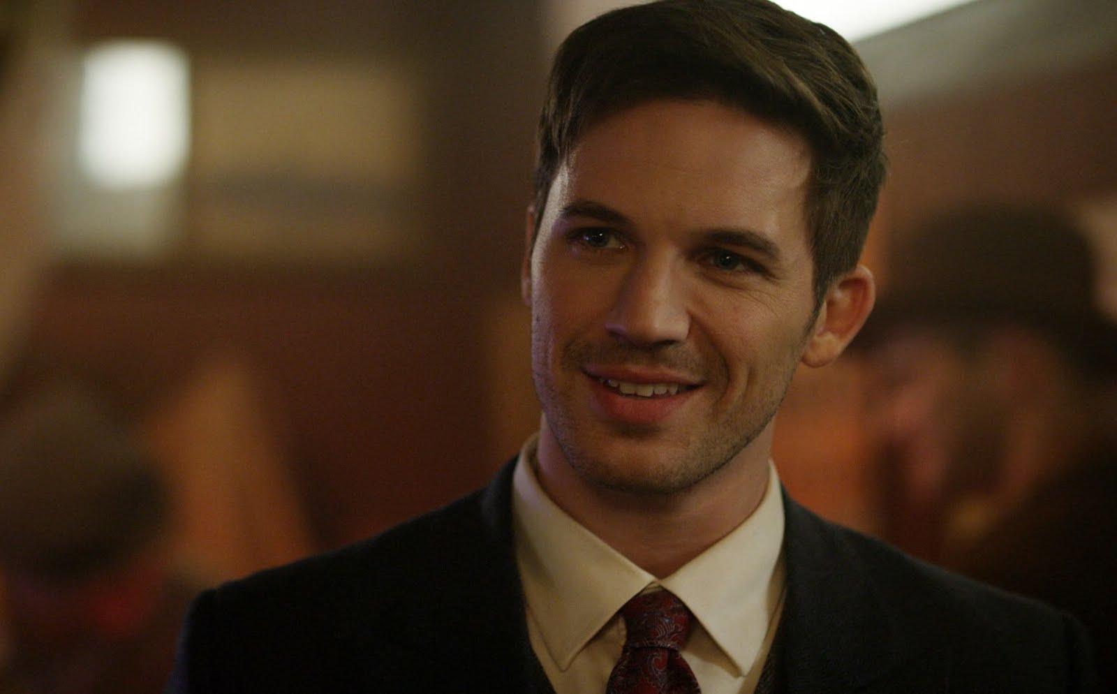 Matt Lanter es Wyatt en Timeless