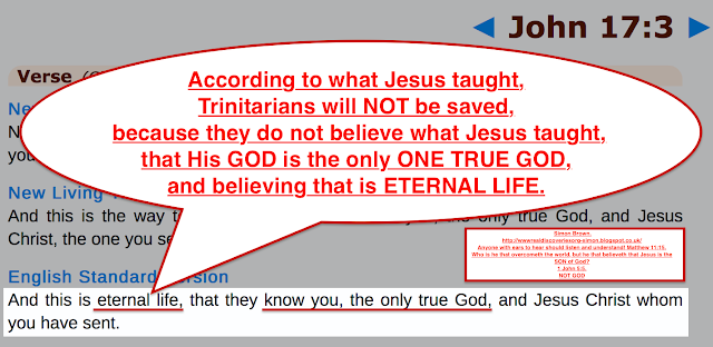 John 17:3.