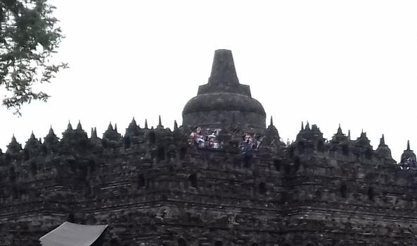 Kisah si Bule di Candi Borobudur