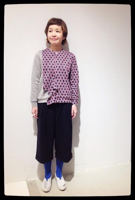 mintdesigns-ミントデザインズ-REVER PRINT CARDIGAN★香川・綾川店