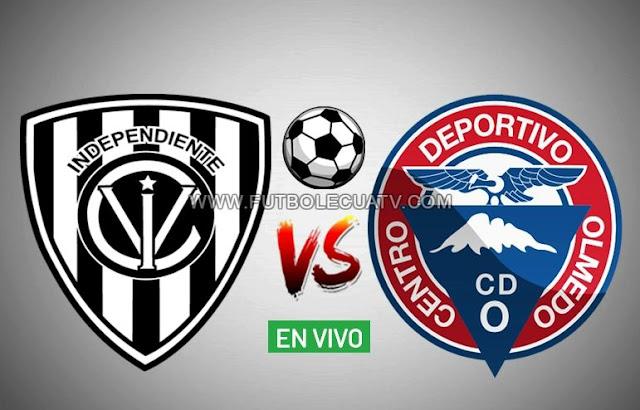 Independiente del Valle choca ante Olmedo esta tarde en vivo por la jornada tres de la Serie A, efectuándose en el campo General Rumiñahui desde las 12h30 hora local. Siendo el árbitro principal Carlos Orbe con emisión del canal oficial GolTV Ecuador.