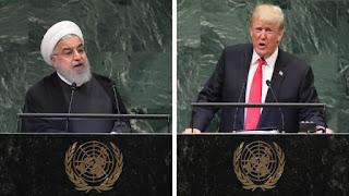 الجمعية العامة للأمم المتحدة: استخدم كل من ترامب وروحاني كلمات أكثر مما فعلوا؟
