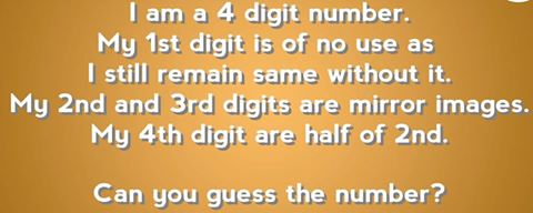 Quick Maths Riddle