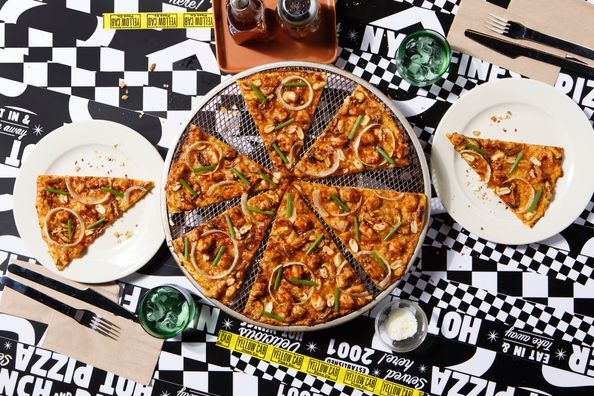Yellow Cab's Charlie Chan® Pizza
