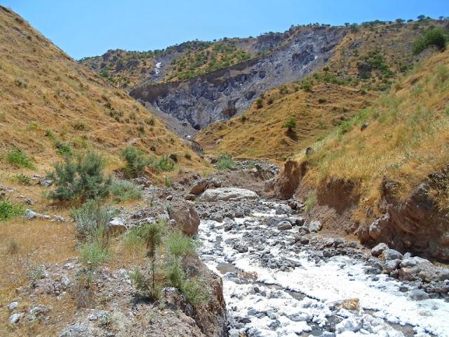 Соляная пещера, гора Ходжа Мумин, Восейский р-он, Хатлон, Таджикистан - фото-обзор похода