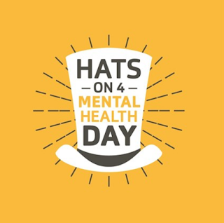 Hats on for Mental health logo image from BEN