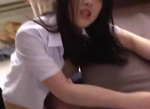 หลอกสาวนักเรียนม.ปลายไปเย็ดในคอนโดของจริง