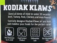 Info: Fleisch Gabel, Grillfete Austattung, Fleisch Kralle, Reisswolf, Salat Gabel, BBQ, Kodiak Klaws