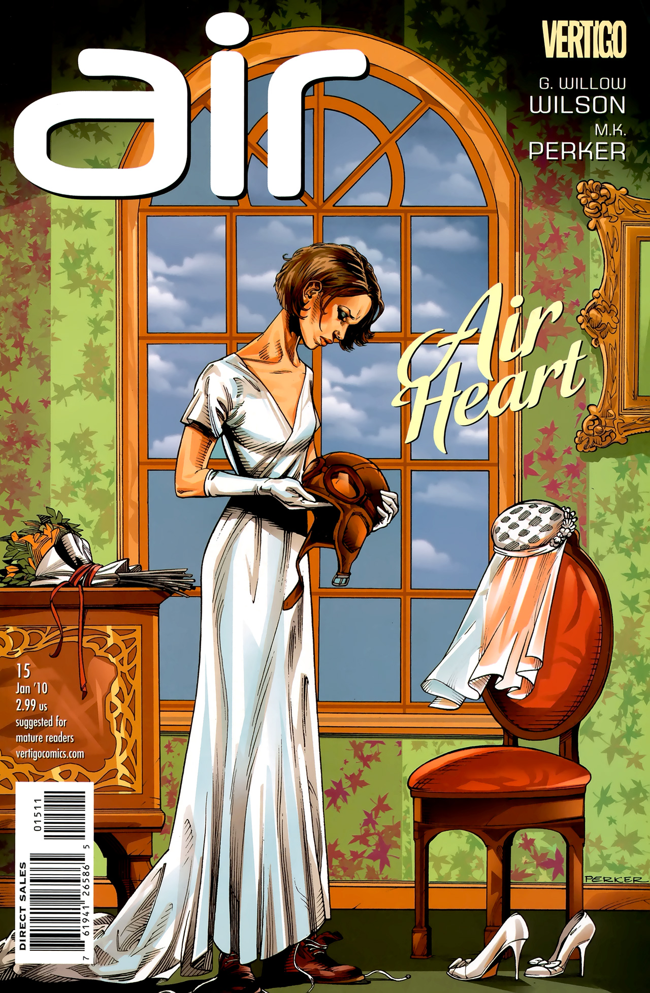 Read online Air comic -  Issue #15 - 1