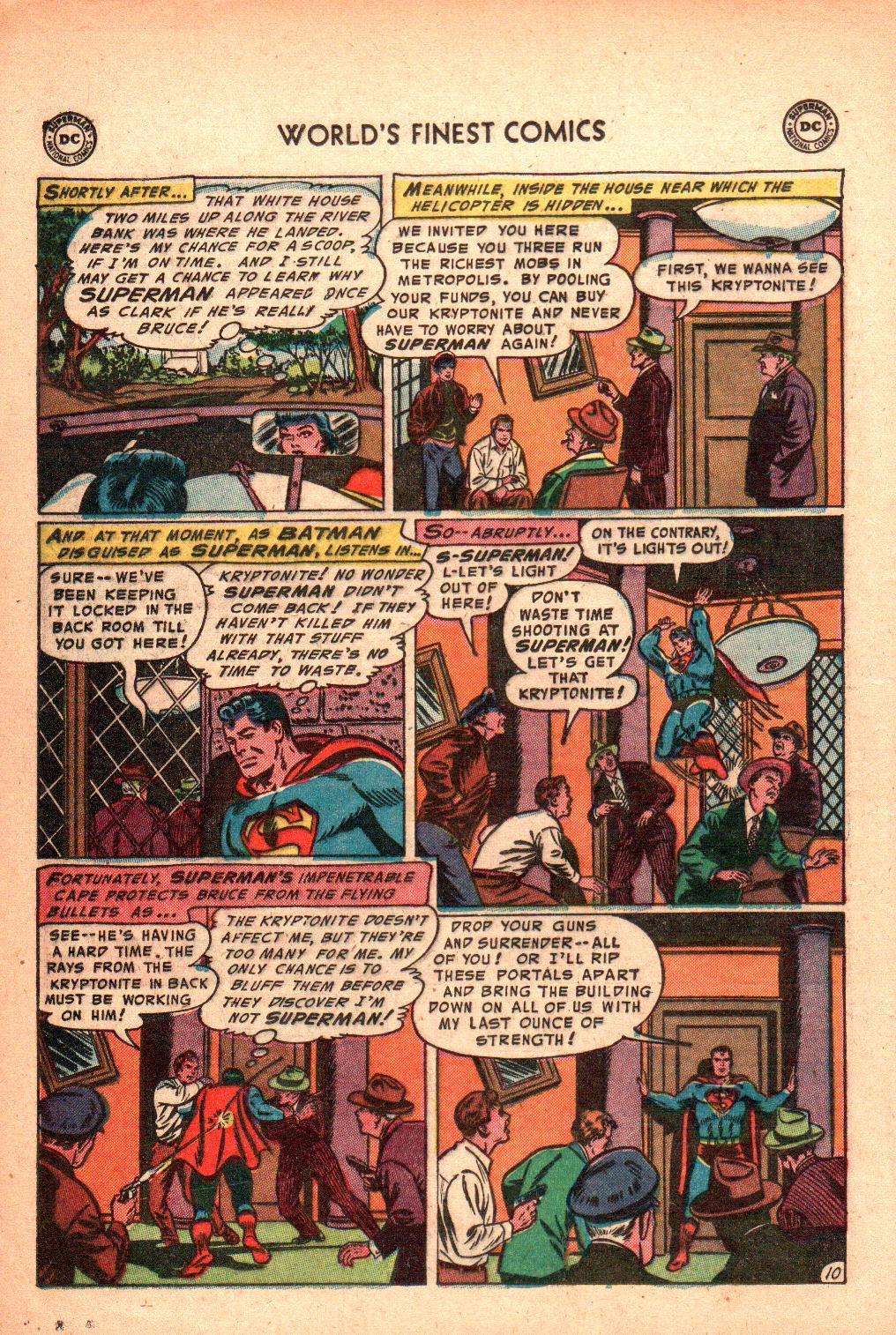 Read online World's Finest Comics comic -  Issue #71 - 14