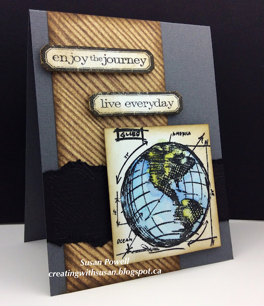 Masculine Card #11 - Enjoying the Journey