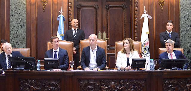 Buenos Aires es una ciudad en movimiento, aseguró Rodríguez Larreta en la Legislatura