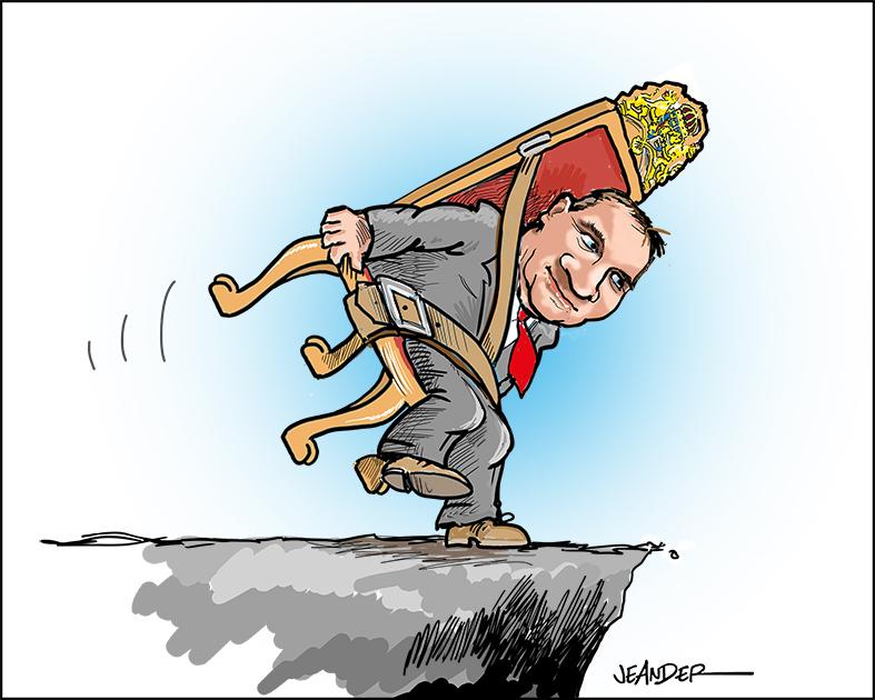 JEANDERS BILDBLOGG: Löfvén och makten