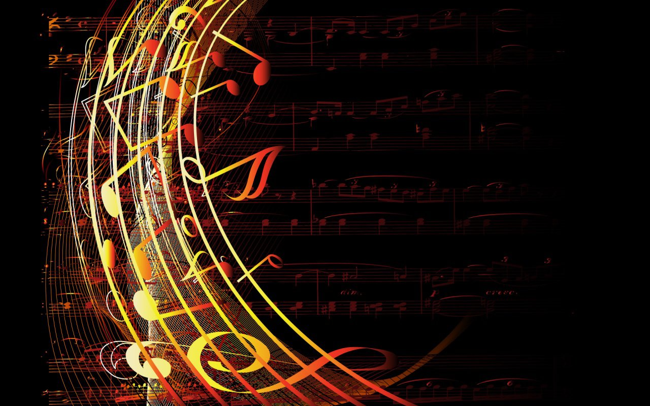Cool Music Note Wallpapers: All New Pix1: Hd Wallpaper Music Notes