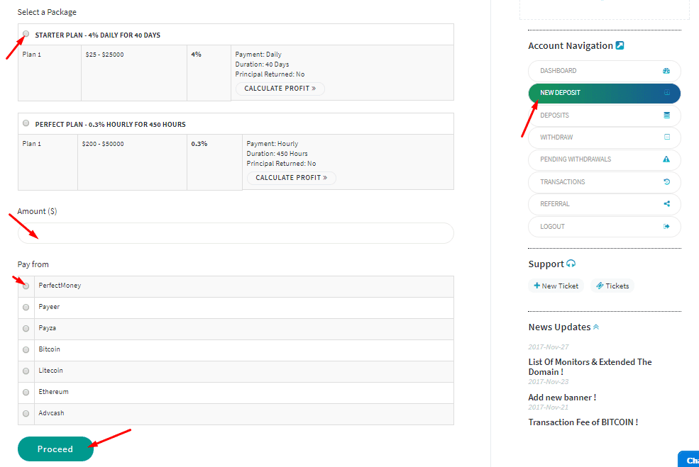 Регистрация в Bitwaves 3