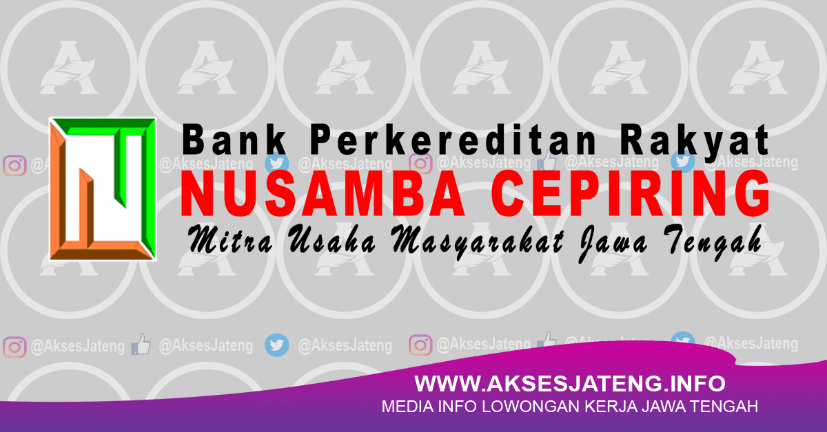PT BPR Nusamba Cepiring