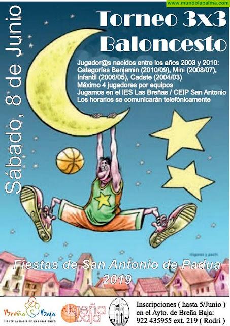 FIESTA SAN ANTONIO DE PADUA: Torneo 3x3 de Baloncesto