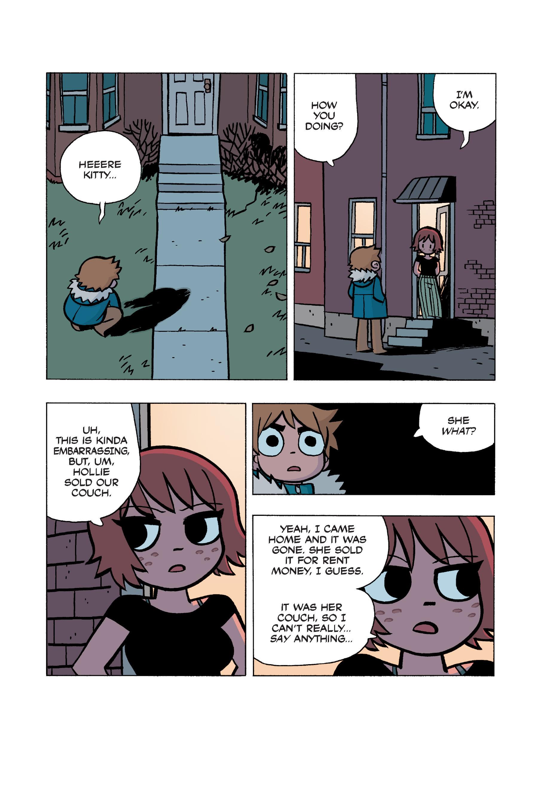 Read online Scott Pilgrim comic -  Issue #5 - 151