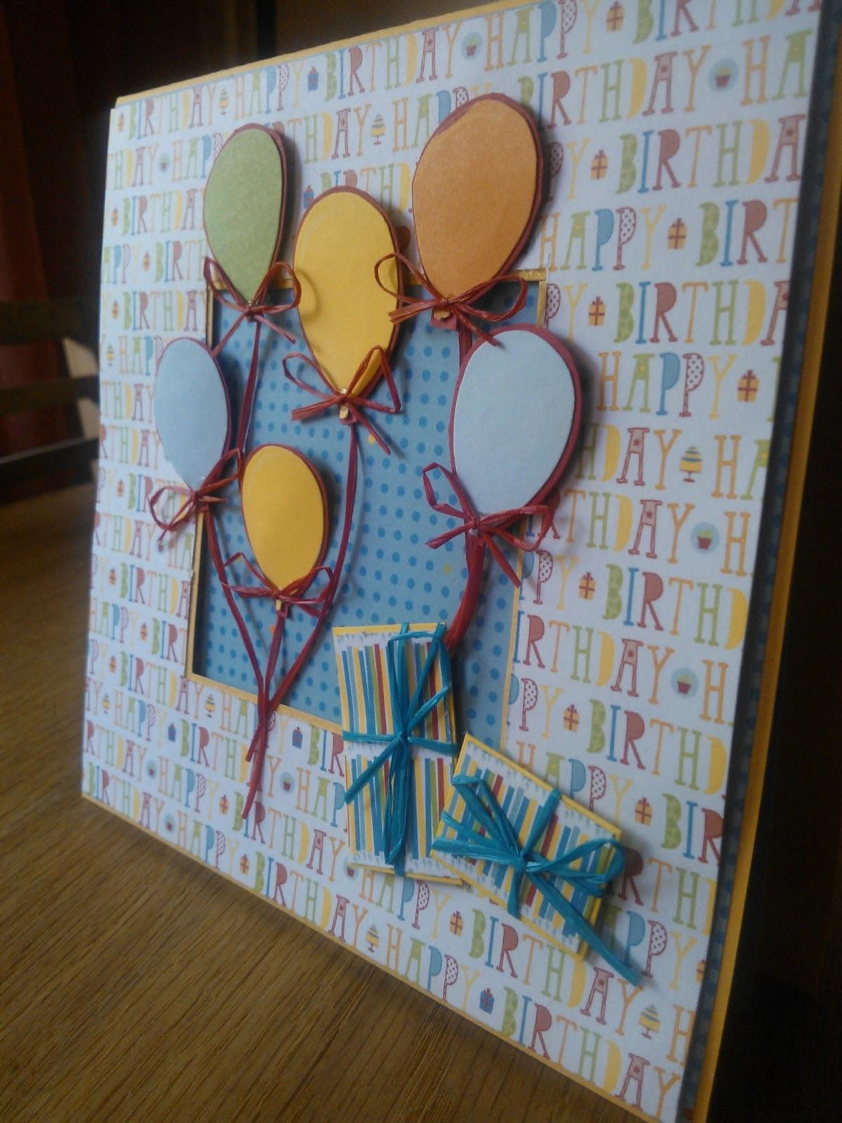 Modernistyczne Papierówka: Kartki urodzinowe dla dużych i małych :) XH21