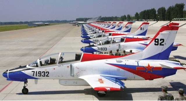 Image Attribute: JL-8 / K-8 Line Up