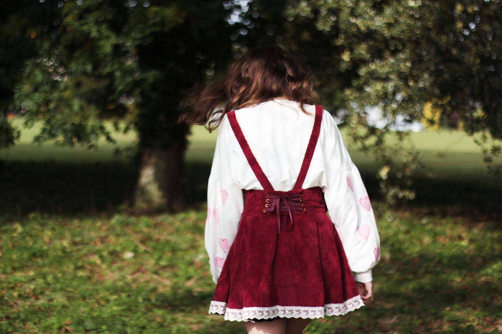 how to style gyaru suspender skirt