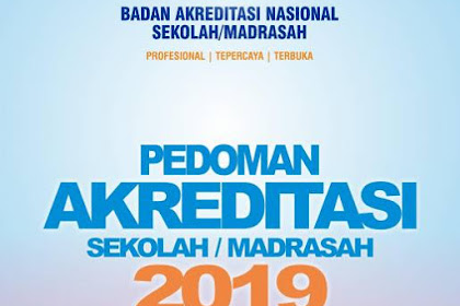 Pedoman Akreditasi Sekolah/ Madrasah 2019