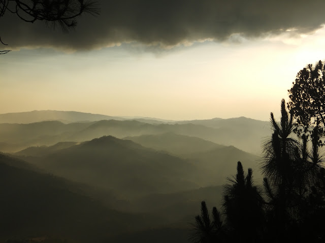 закат в Алморе